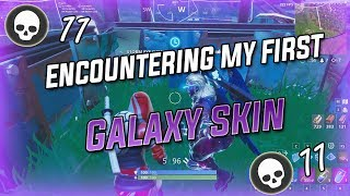 Encountering My First Galaxy Skin - 11k Fortnite Battle Royale Gameplay