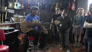 Victor Wooten on why he plays a Fodera Bass at Martin Music clinic