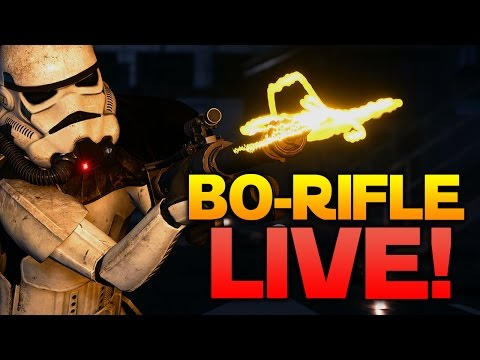 BO RIFLE LIVE - COME GET IT! - Star Wars Battlefront