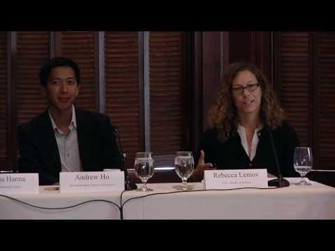 New Faculty Institute 2016   Rema N. Hanna, Andrew Ho, Rebecca Lemov
