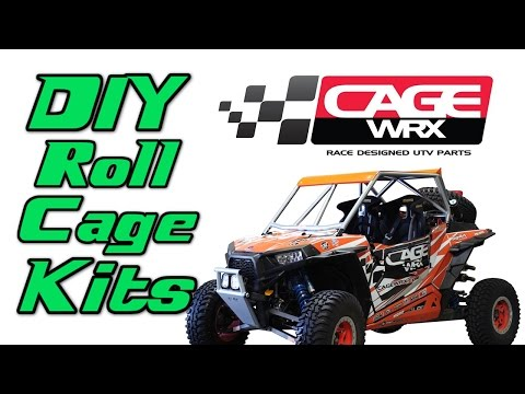 DIY Roll Cage Kits from CageWRX for UTVs   Side By Sides