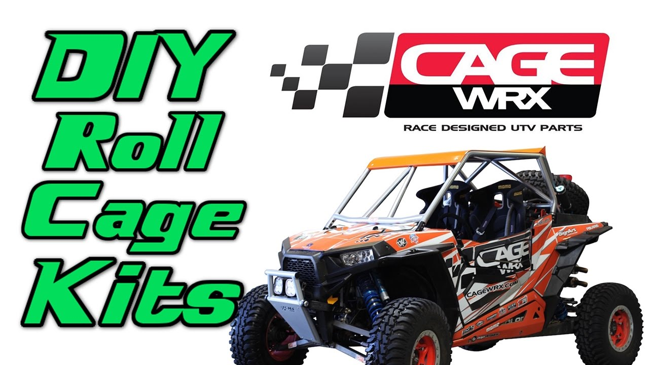 DIY Roll Cage Kits from CageWRX for UTVs | Side By Sides