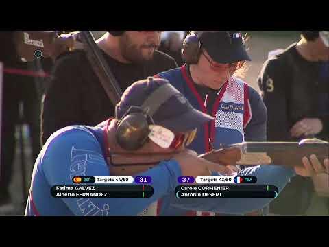 World Cup Shotgun, Nicosia. Final Trap Mixed Team, 9.03.2020