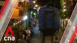 Hanoi authorities to clear railway cafes, citing safety concerns