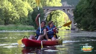 Canoe nocturne Gorges du Tarn Aveyron Lozère avec Aqua Soleil Eau Canoe