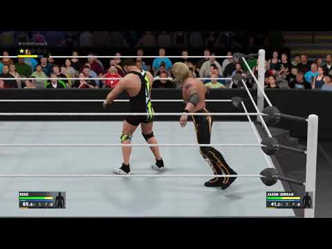 WWE 2K17 Dammit. He just wouldn't stay down