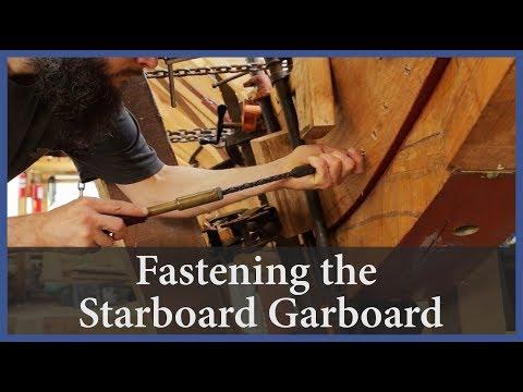 Fastening The Starboard Garboard - Acorn To Arabella