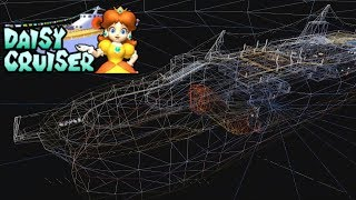 Mario Kart Double Dash Wireframe Flower Cup