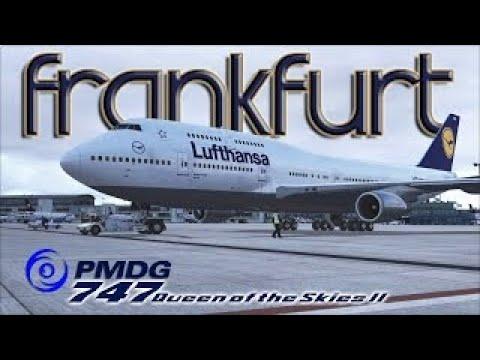 FSX [HD] - Lufthansa | Boeing 747-400 | Departure: Frankfurt