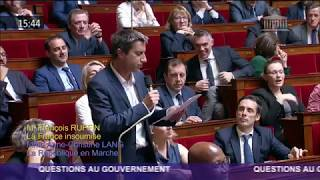 Ruffin s'inquiète pour le couple Macron, leurs