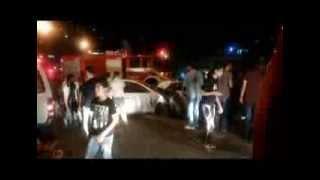قتلى وجرحى في حادث سير مروع في شارع المصدار