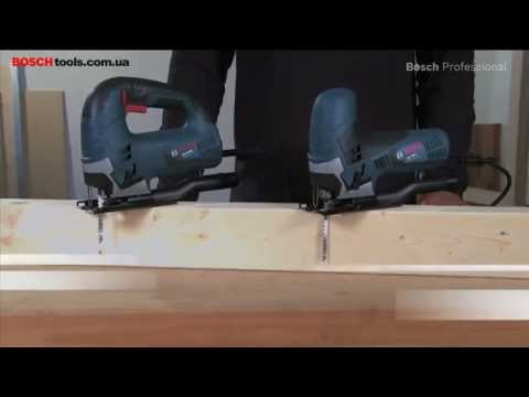 Видео обзор: Лобзик BOSCH GST 90 E