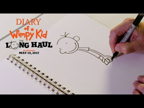 Diary of a Wimpy Kid The Long Haul | How to Draw Greg | 20th Century FOX