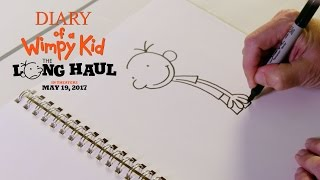 Diary of a Wimpy Kid: The Long Haul | How to Draw: Greg | Fox Family Entertainment