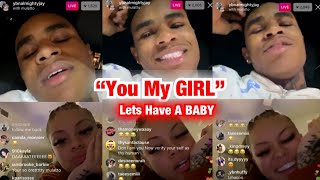 """YBN Almighty Jay REPLACES """"Riley Simpson"""" With Mulatto On IG Live (1/24/20)"""