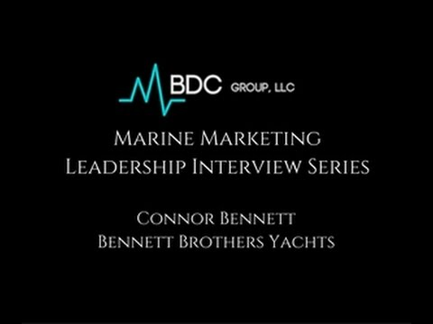Marine Marketing Leadership Series......Connor Bennett