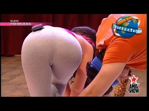 Twister on TV - compilation: Twister game from different countries television (Serbia, Romania, Brasil and Chile)