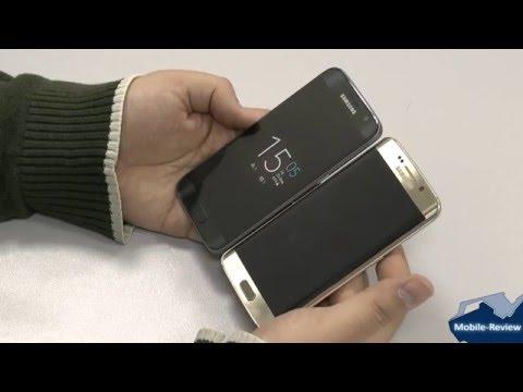 Сравнение Samsung Galaxy S7 и Galaxy S6 EDGE