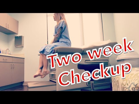 Mommy Makeover Two Week Check Up