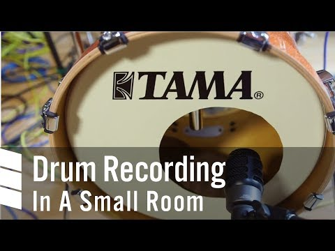 Drum Recording In A Small Room