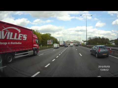M25 Dartford Tunnel Northbound