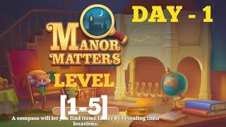 Manor Matters Level 1 2 3 4 5 Solution Or Walkthrough