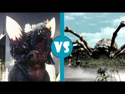 SpaceGodzilla vs Kumonga