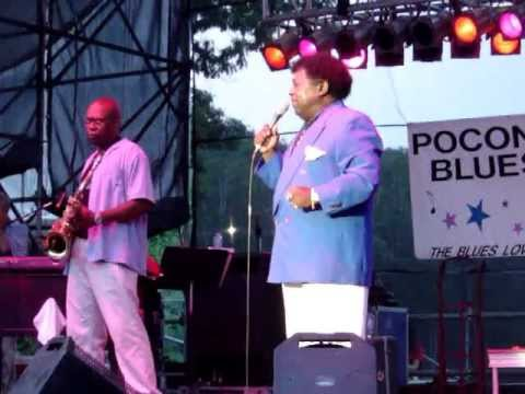 "PERCY SLEDGE - ""Whiter Shade Of Pale"" (Pocono Blues Festival / 7-31-05)"