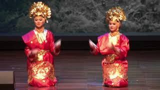 Tari Piring/ Plate Dance Tampil di JIS, Brunei