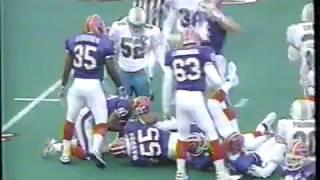 1994 - Week 6 - Miami Dolphins at Buffalo Bills