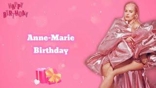 【中英歌詞】Anne-Marie - Birthday 生日