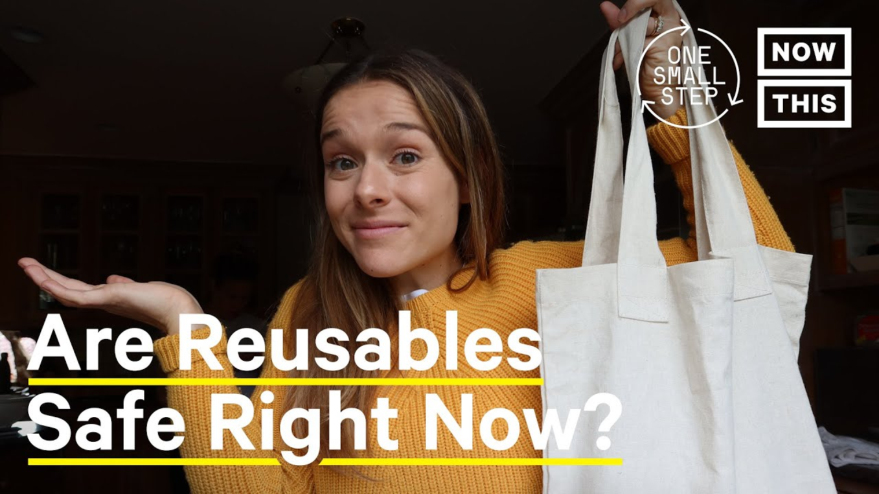 Are Reusables Still Safe Amidst the Coronavirus Pandemic? | One Small Step | NowThis