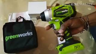 Greenworks G-24 - 300Nm - Cordless Impact Driver-Unboxing