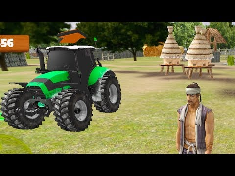 Tractor Farm Driving Game 20 Cocuklar Icin Traktor Araba Oyunu