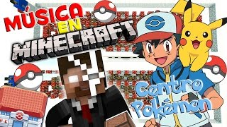 Centro Pokémon | Canciones en Minecraft | NoteBlock Song [Tutorial]