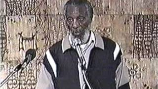 DICK GREGORY: MAD COW AND THE DEATH OF RON BROWN: PT 1