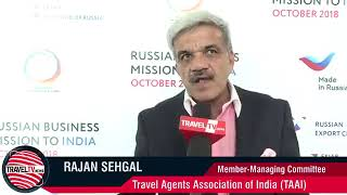 Round Table on Tourism on the sidelines of the Russian Indian Summit - October 2018