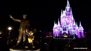 2013 Christmas Decorations At The Magic Kingdom - Walt Disney World