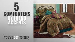 Top 10 Hiend Accents Comforters [2018]: HiEnd Accents San Angelo Western Comforter Set with Teal