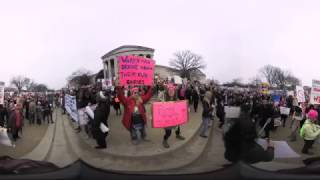 (Video 360) Women's march on Washington