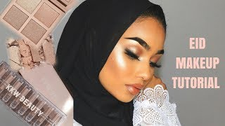 EID MAKEUP TUTORIAL | USING THE NEW KKW BEAUTY LIPSTICKS | SABINA HANNAN