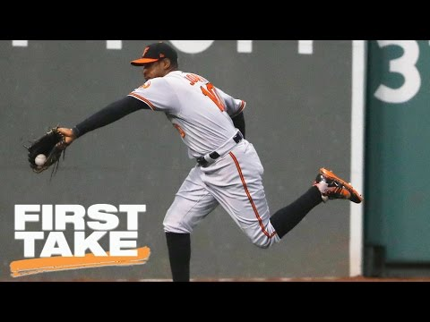 Adam Jones Berated With Racist Taunts At Fenway Park | First Take | May 2, 2017