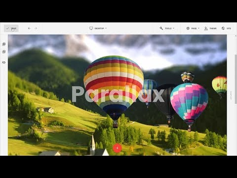 Parallax Effect On Mouse Movement With Joomla Website Builder Gridbox