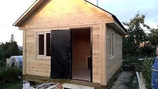 Строительство Дома и Бани из сухого бруса от производителя - DOM-SRUBI.RU - Отзыв Заказчика