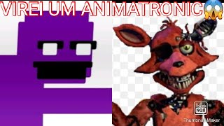 ROBLOX I AM THE GUARD AND THE ANIMATRONIC!