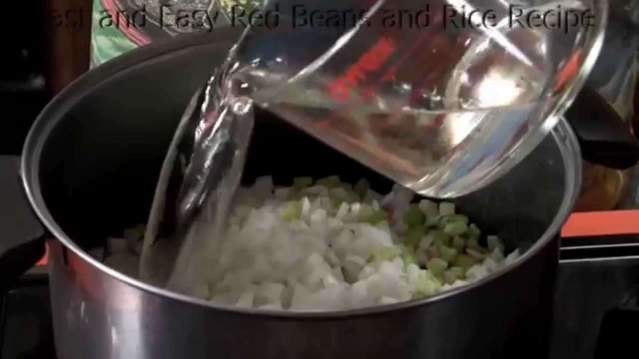 how to cook red beans and rice fast