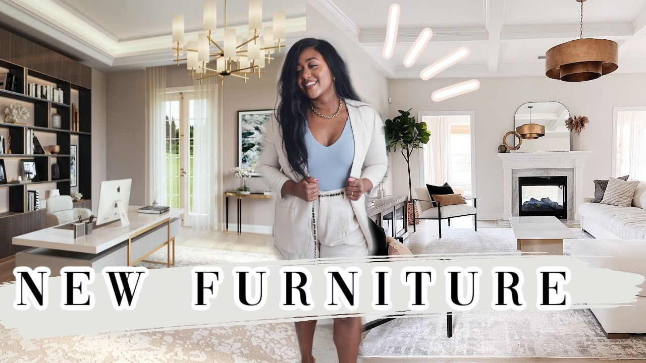 *NEW* HOME UPDATE | CB2 FURNITURE, SUNROOM, OFFICE & MORE