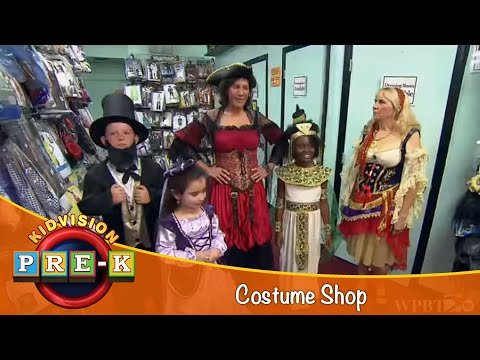 Take a Field Trip to a Costume Shop | KidVision Pre-K Field Trip