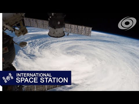 Hurricanes Karina and Lowell from the ISS (Aug 21 - 24, 2014)