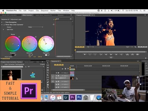 How to Enhance Your Video Quality: Color Correction | Adobe Premiere CC 2016